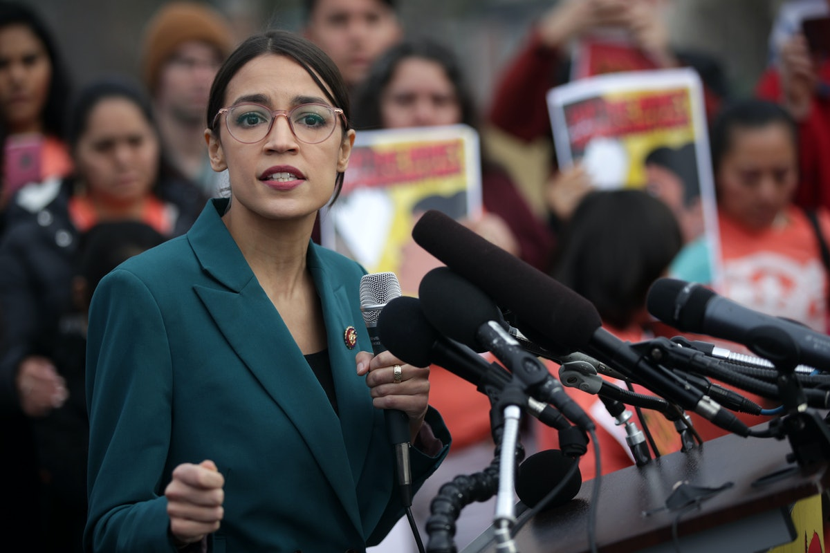 Alexandria Ocasio-Cortez Says Teaching Could've Been Her Next Step If Trump Wasn't Elected