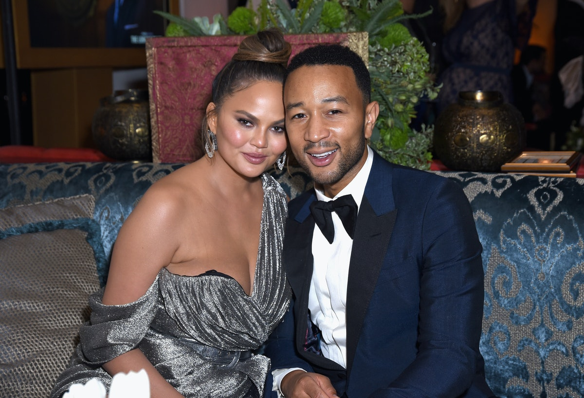 """Chrissy Teigen & John Legend's Son Miles Trying To Say """"Dada"""" Will Melt Your Heart — VIDEO"""