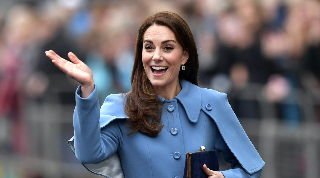 how to get exquisite craftsmanship compare price Kate Middleton's Powder Blue Coat Dress Will Inspire You To ...