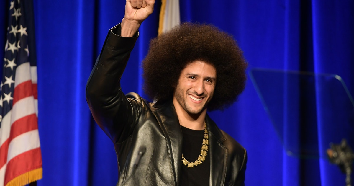 Where To Buy Colin Kaepernick's 'I'm With Kap' Jersey That Celebrities Are Wearing During Super Bowl Weekend