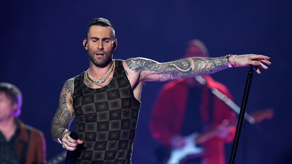 Maroon 5 Adam Levine Tattoo