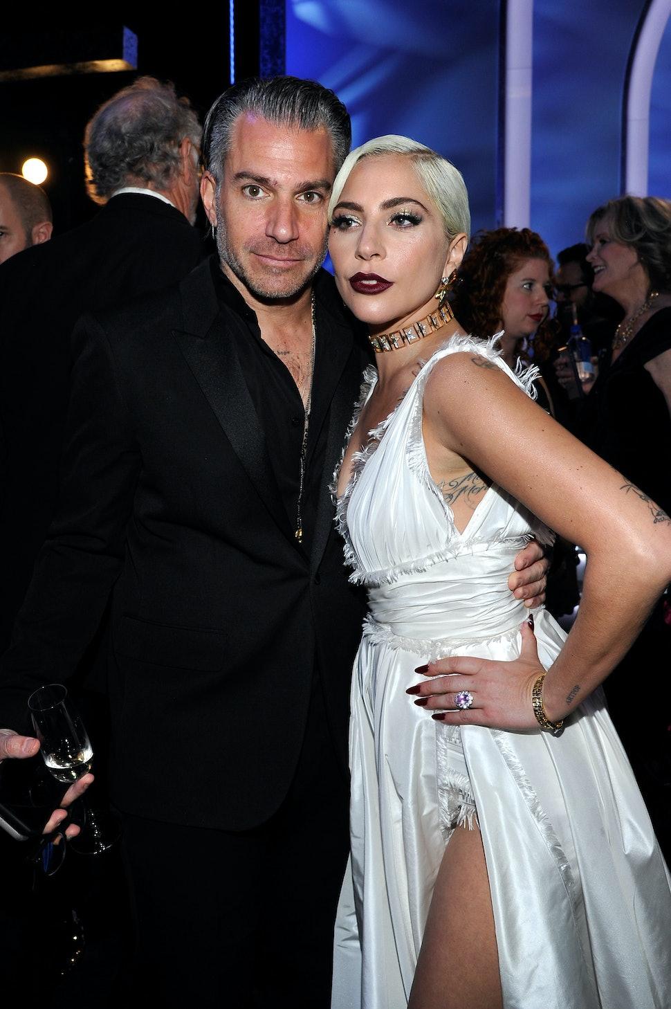 Celebrity Couples Lady Gaga and Christian Carino
