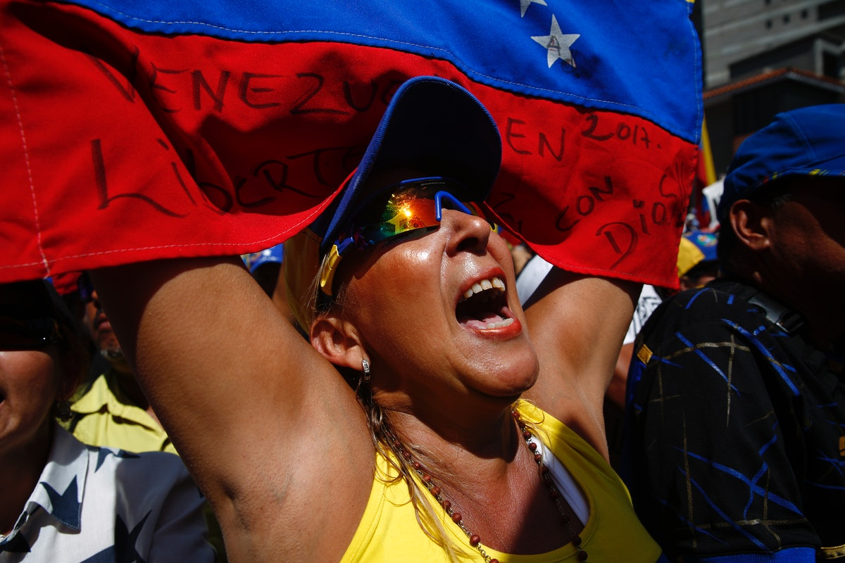 Why Is Venezuela Protesting? Trump Has Lots Of Thoughts On The Political Unrest