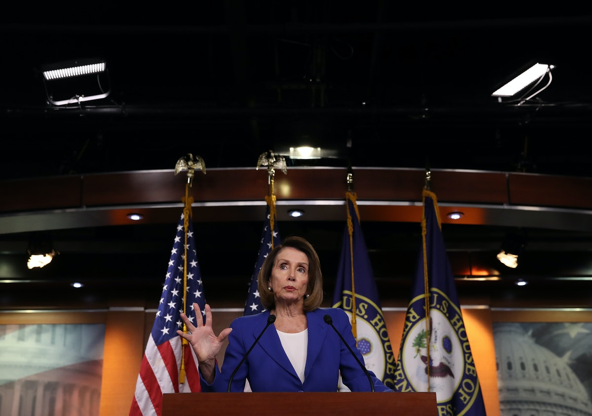 "Nancy Pelosi Is Facing Trump's ""Threat"" Against Investigating His Administration Head-On"