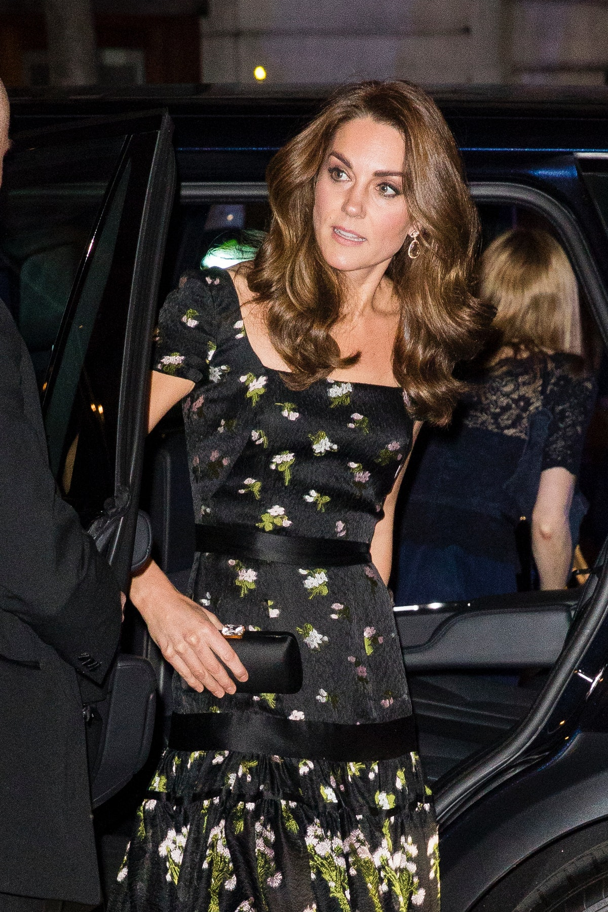 Kate Middleton Rewore Her Black Floral Alexander McQueen Dress But Made It TOTALLY New