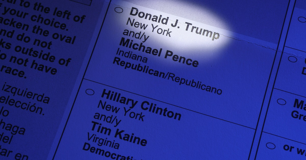 2020 Ballots In These States Might Not Include Trump Unless He Releases His Tax Returns