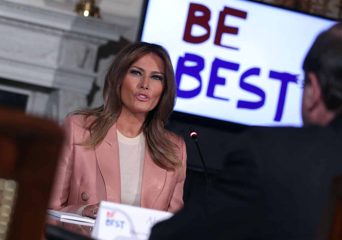 """Melania Trump's Latest """"Be Best"""" Plans Has Her Working With Other Governmental Agencies"""
