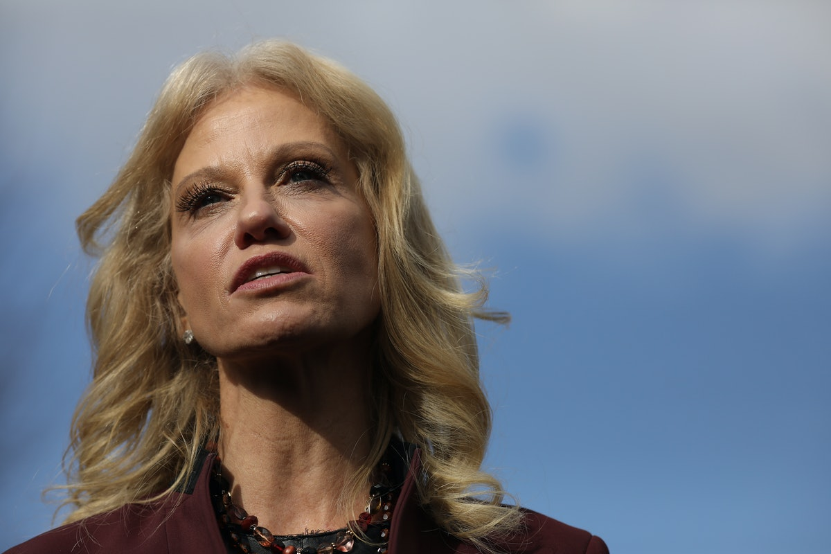 Kellyanne Conway Responds To Her Husband's Tweets About Trump's Mental Health