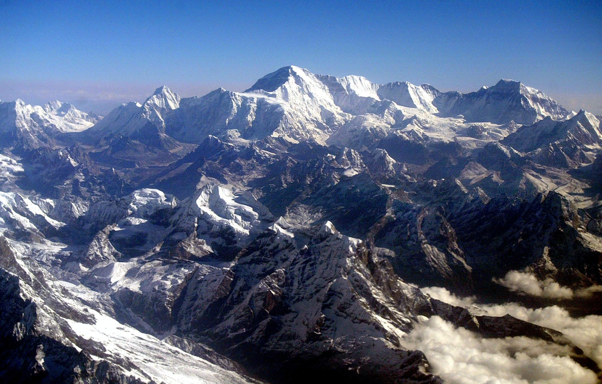 Mount Everest Glaciers Are Melting From Climate Change & There's An Especially Grim Effect