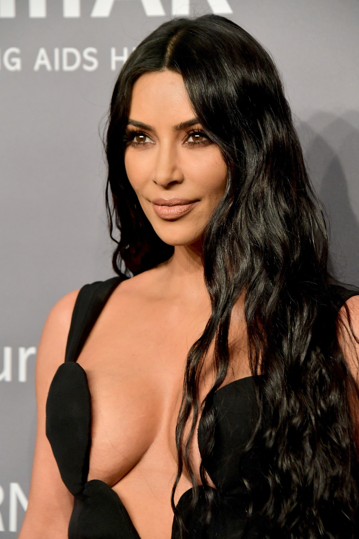 Kim Kardashian's Floor-Length Hair Is Giving Serious Cher Vibes