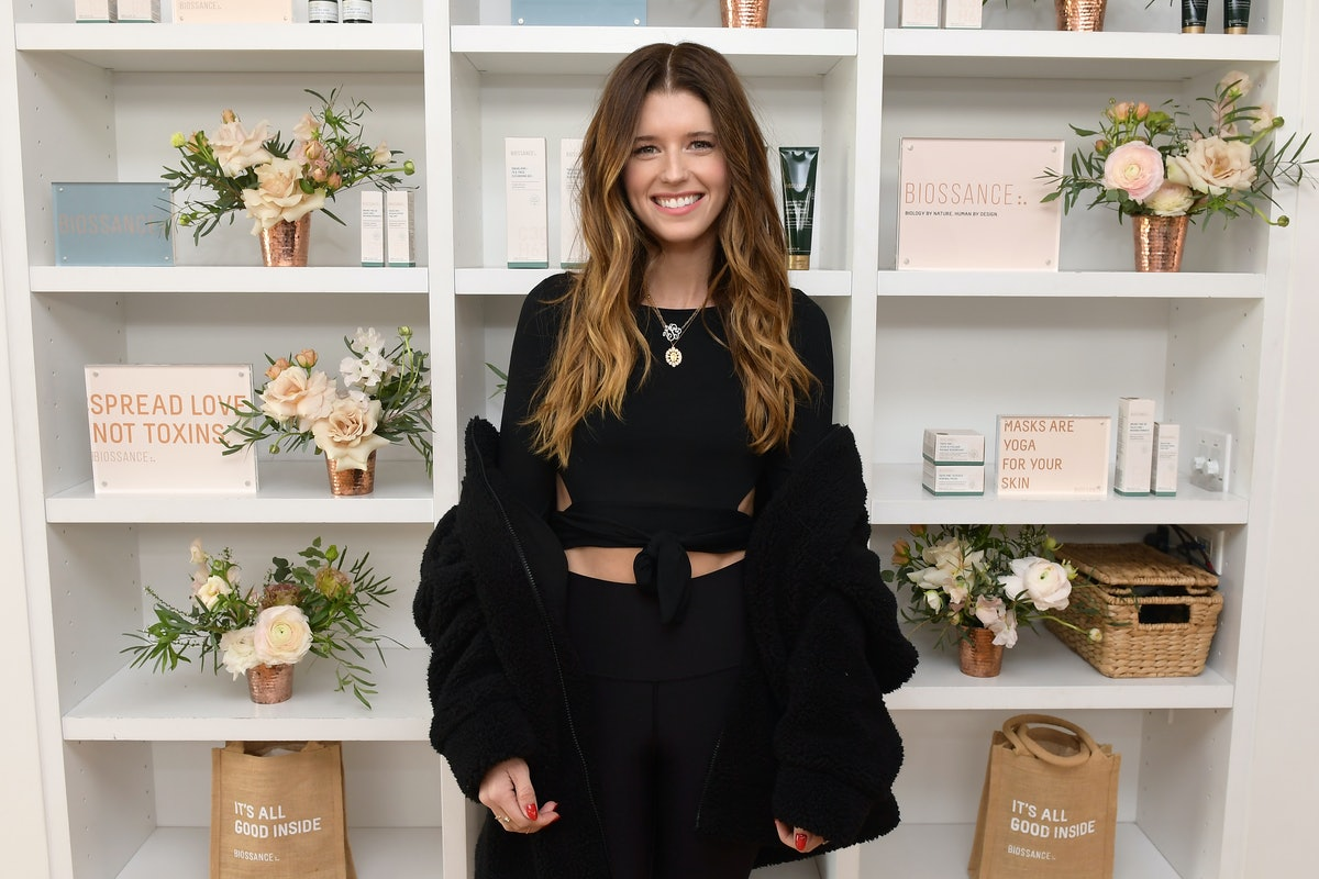 Katherine Schwarzenegger's Flannel Jacket Is A Smart Buy For Transitional Weather