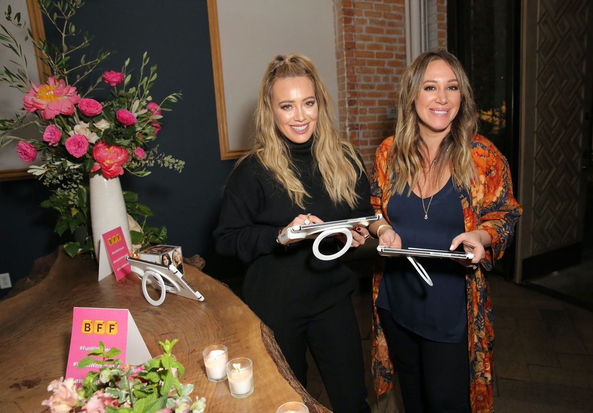 Hilary & Haylie Duff's Photo With Their Daughters Looking Just Like Twins Is Too Cute