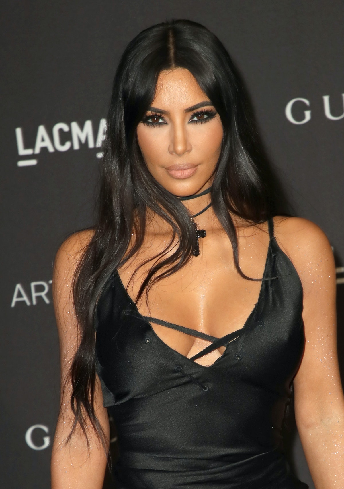 Kim Kardashian Wore A Sparkly Bodysuit In Paris & It's Going To Be Your New Spring Outfit Inspo