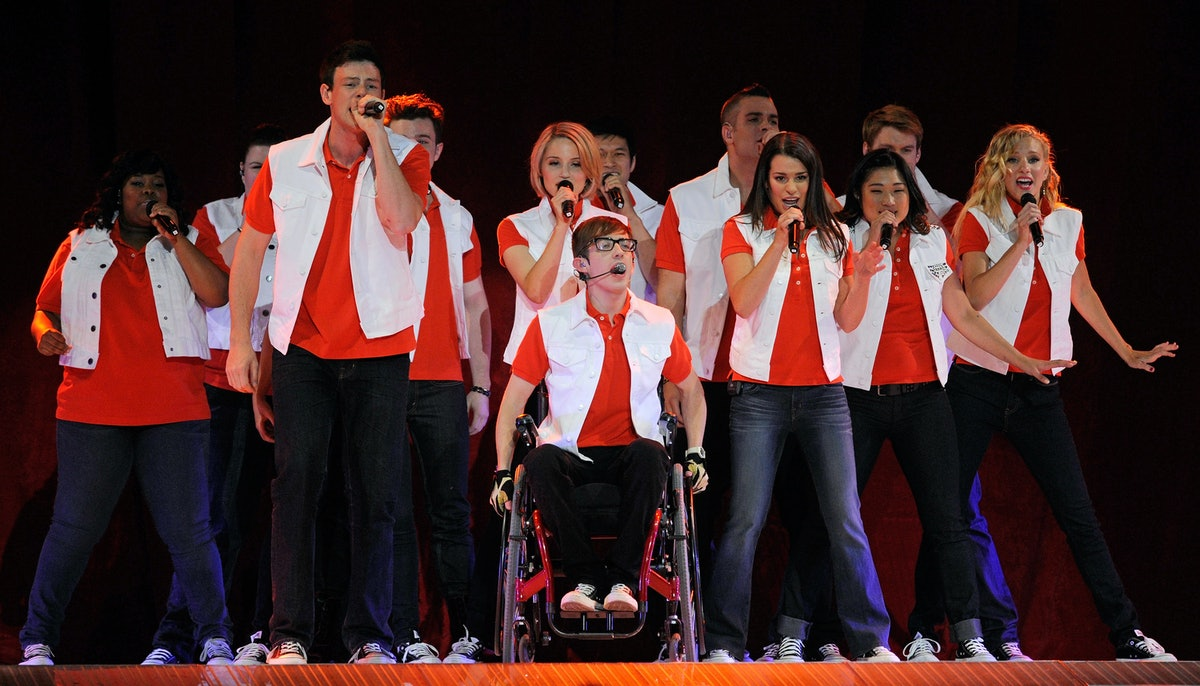 These 'Glee' Alumni Are Facing Off On 'Drop The Mic' For An Epic Finale