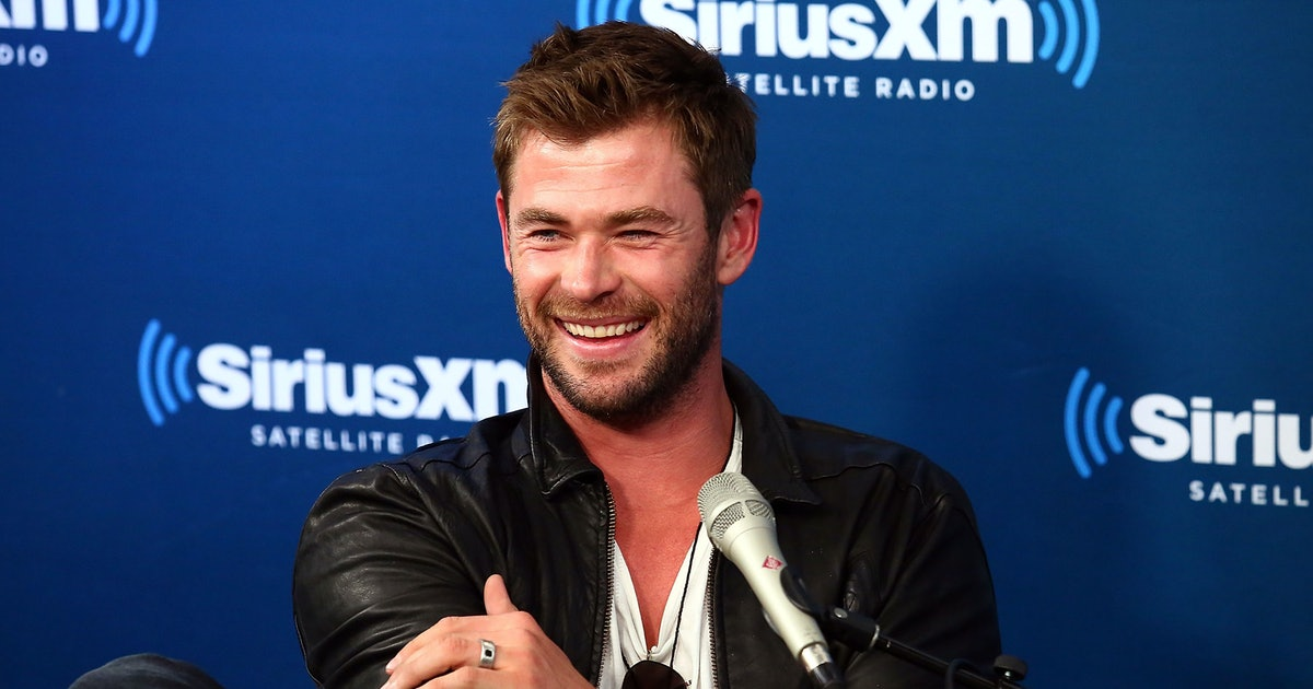 Chris Hemsworth's Video Riding A Roller Coaster At Shanghai Disneyland Will Make You Laugh So Hard