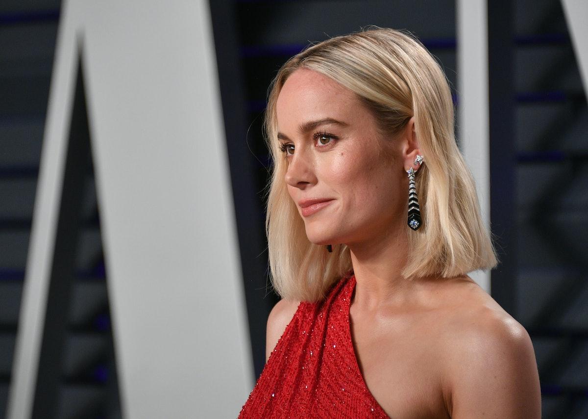 Brie Larson's White Button-Down Shirt Is A Fresh Take On A Classic Silhouette