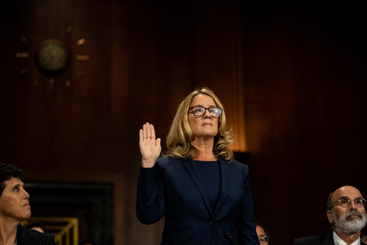 Kamala Harris Honors Christine Blasey Ford In 'TIME's 100 Most Influential People List