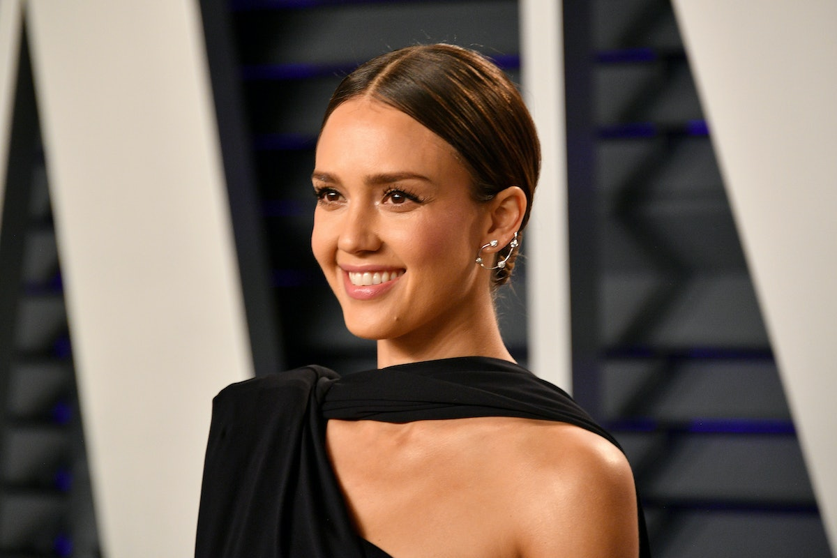 Jessica Alba's Black Dress Proves Dark Hues Aren't Off Limits In Summer