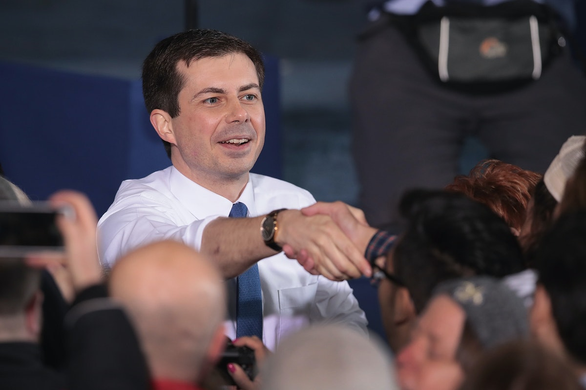 Pete Buttigieg Didn't Let Anti-LGBTQ Protesters Get In The Way Of His Rallies