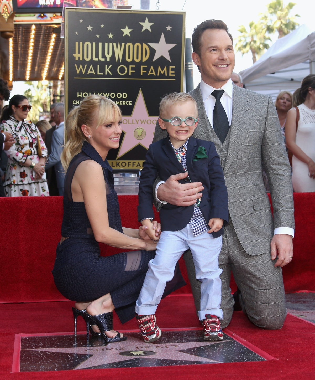 Anna Faris & Chris Pratt's Son Jack Has Some Hilarious Thoughts About His Parents Being Famous