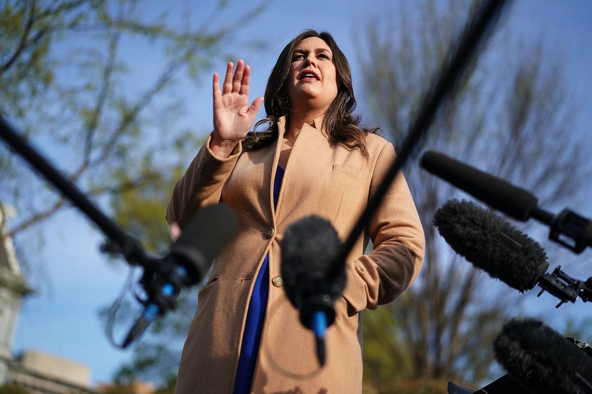 Sarah Sanders' Mueller Report Response Was Truly Something