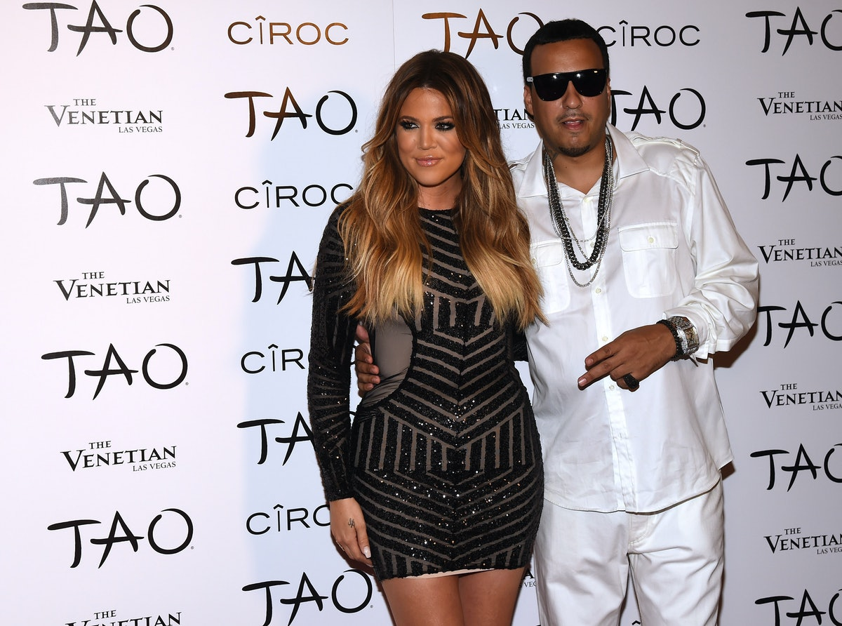 Khloe Kardashian & French Montana Were Reportedly Spotted Together At Kourtney's B-Day Party, & OMG