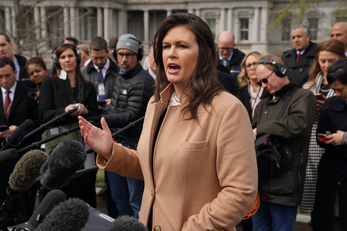 """Sarah Sanders' Claim That April Ryan Wants Her """"Decapitated"""" Left The Reporter Unfazed"""