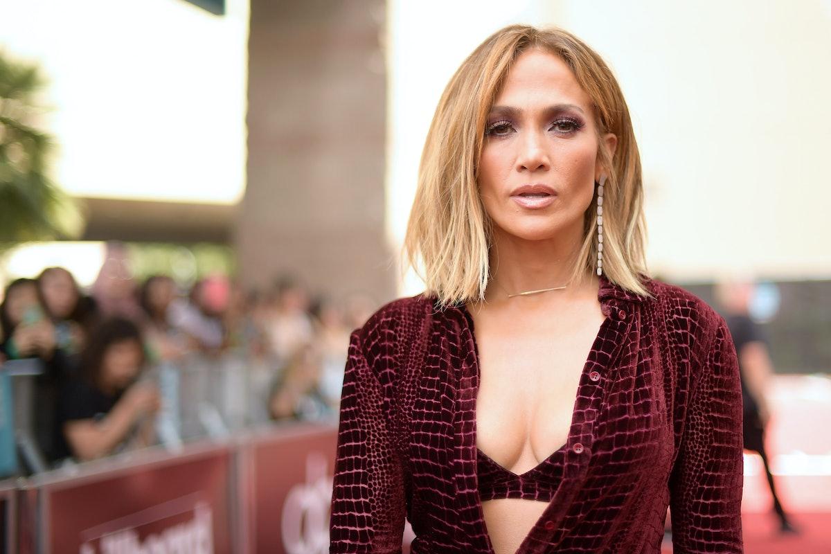 Jennifer Lopez's Denim Jumpsuit Makes Weekend Dressing A Breeze