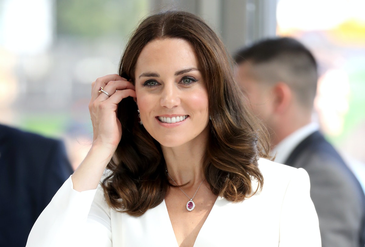 Kate Middleton's Blue Coat Dress Is The Dreamiest Color For Spring