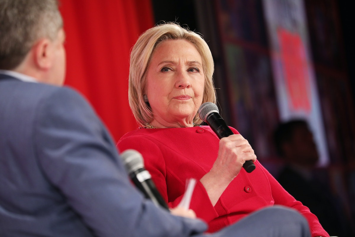 Hillary Clinton Agrees Trump Impeachment Efforts Aren't Worth It Right Now