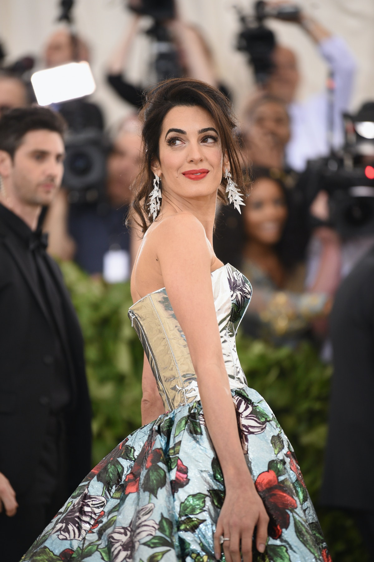 Amal Clooney's White Dress Will Convince You To Trade Out Your LBD