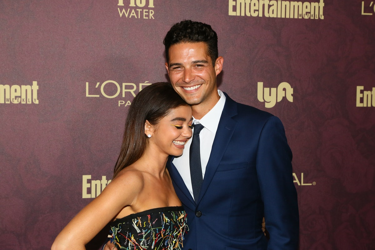 Sarah Hyland's Quote About Wells Adams Helping Her With Her Health Issues Is So Heartwarming