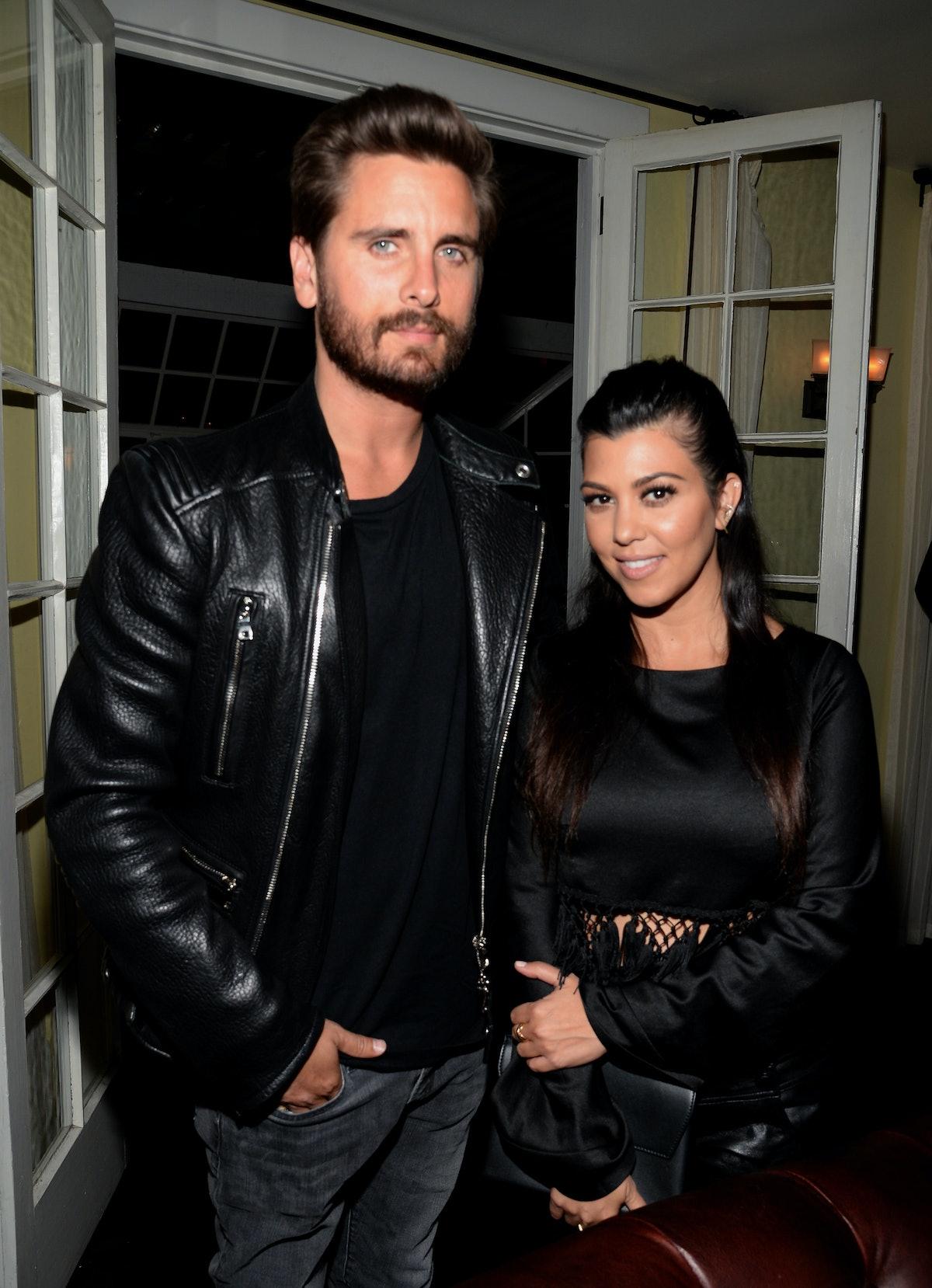 Kourtney Kardashian's Conversation About Scott Disick & Soulmates Is So Intense
