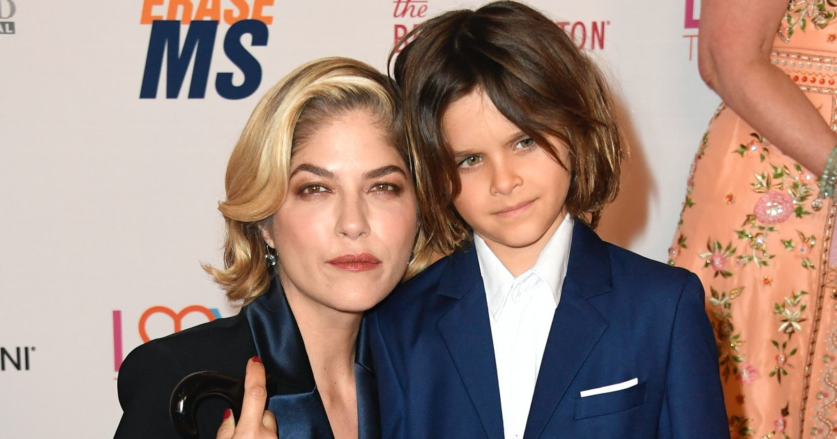 Selma Blair Shaved Off Her Hair With Some Help From Her Son