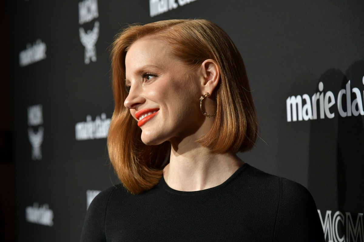 Jessica Chastain's New Bangs Prove Fringe Is Here To Stay