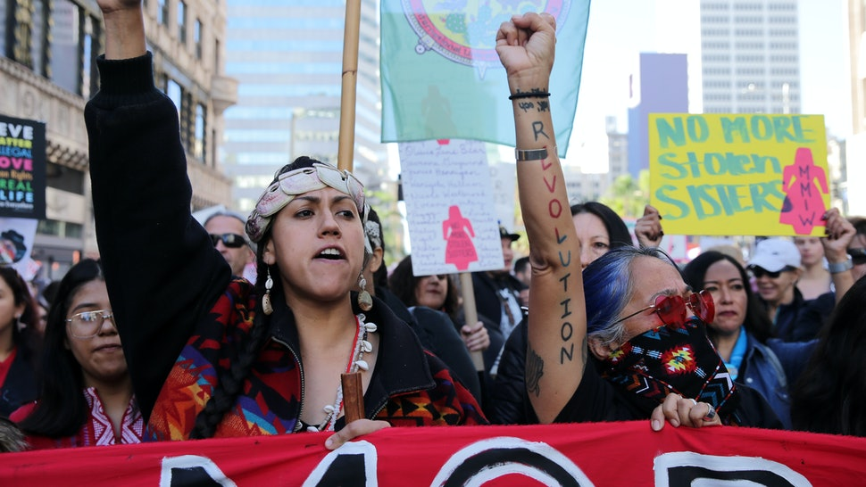 The Missing & Murdered Indigenous Women Epidemic Is Inseparable From