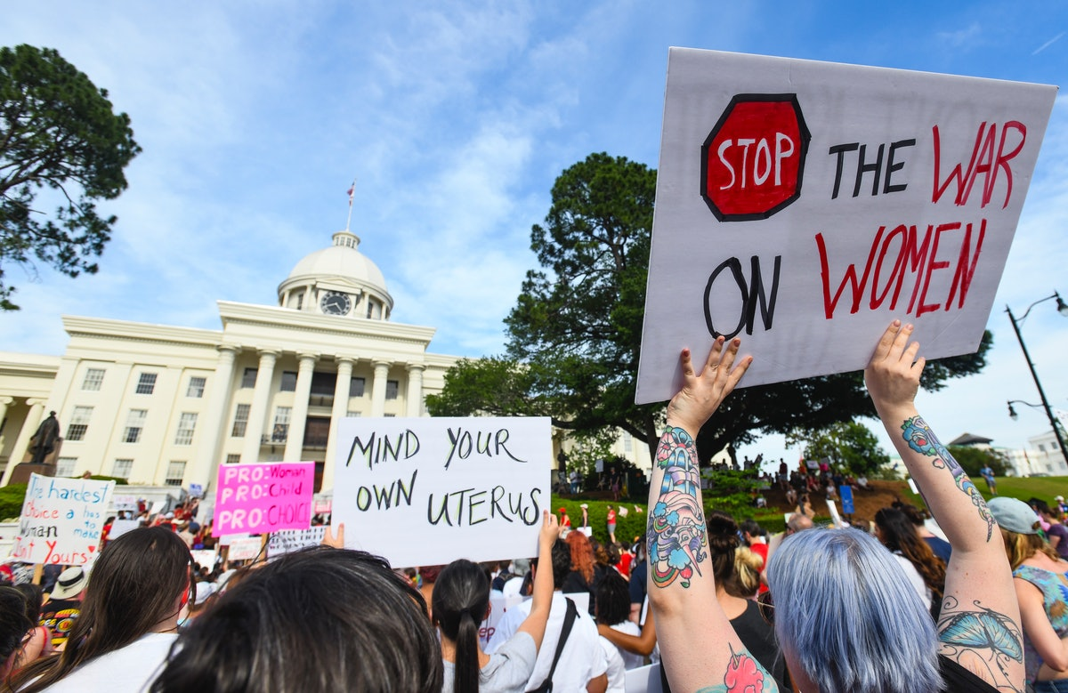 Photos Of Alabama Abortion Ban Protests Show The Opposition Is Fierce