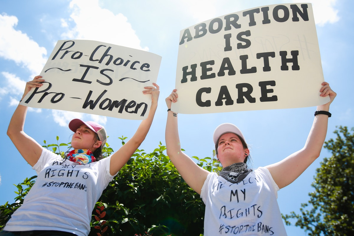 """""""Stop The Bans"""" Rally Photos Show The Fight For Abortion Rights Is Gaining Momentum"""