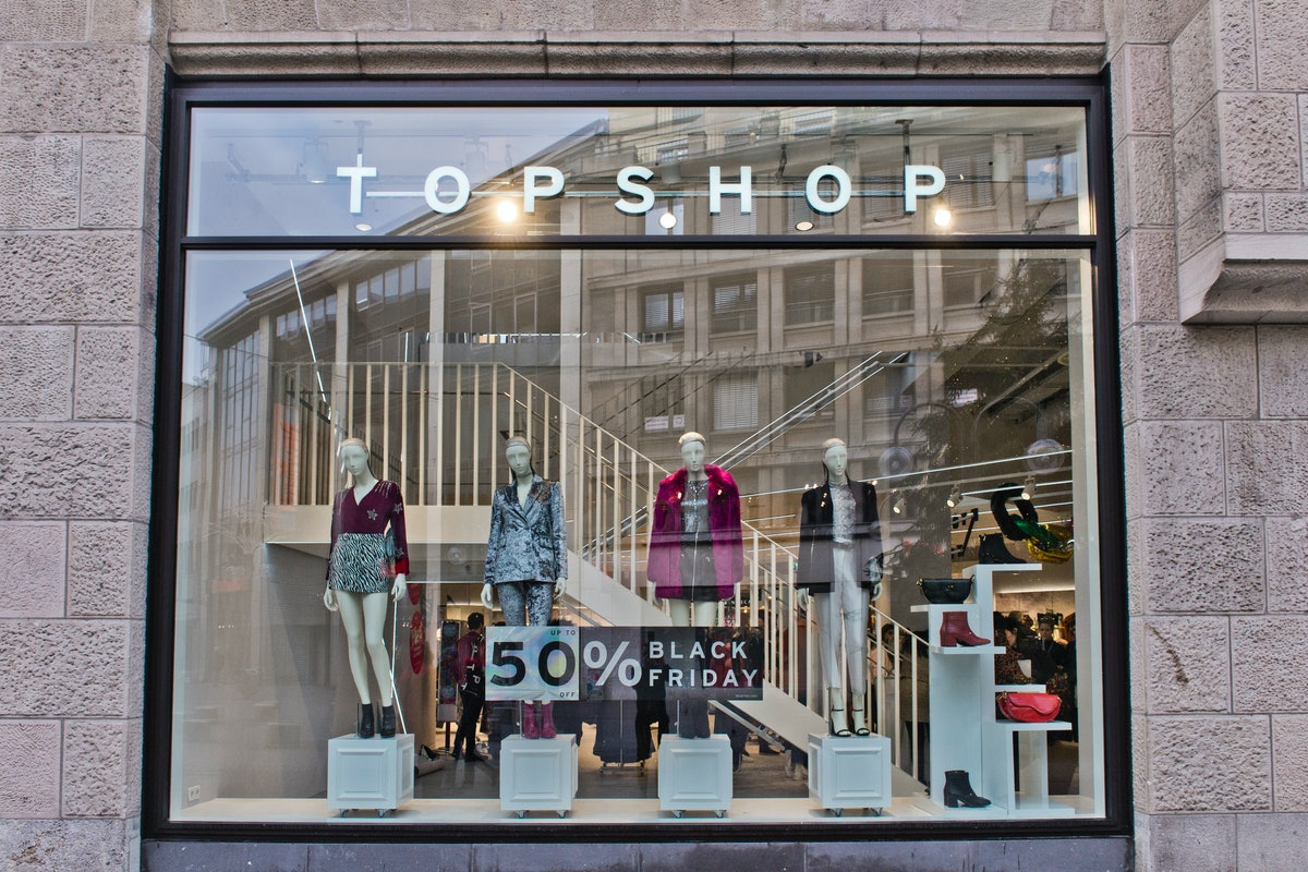 Topshop Is Closing All Of Its U.S. Stores After Bankruptcy Filing