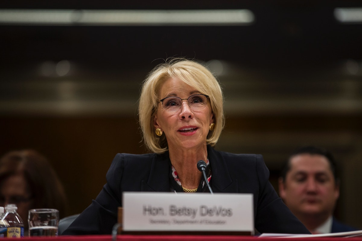 51 Attorneys General Ask Betsy DeVos To Forgive Student Loans For Disabled Vets