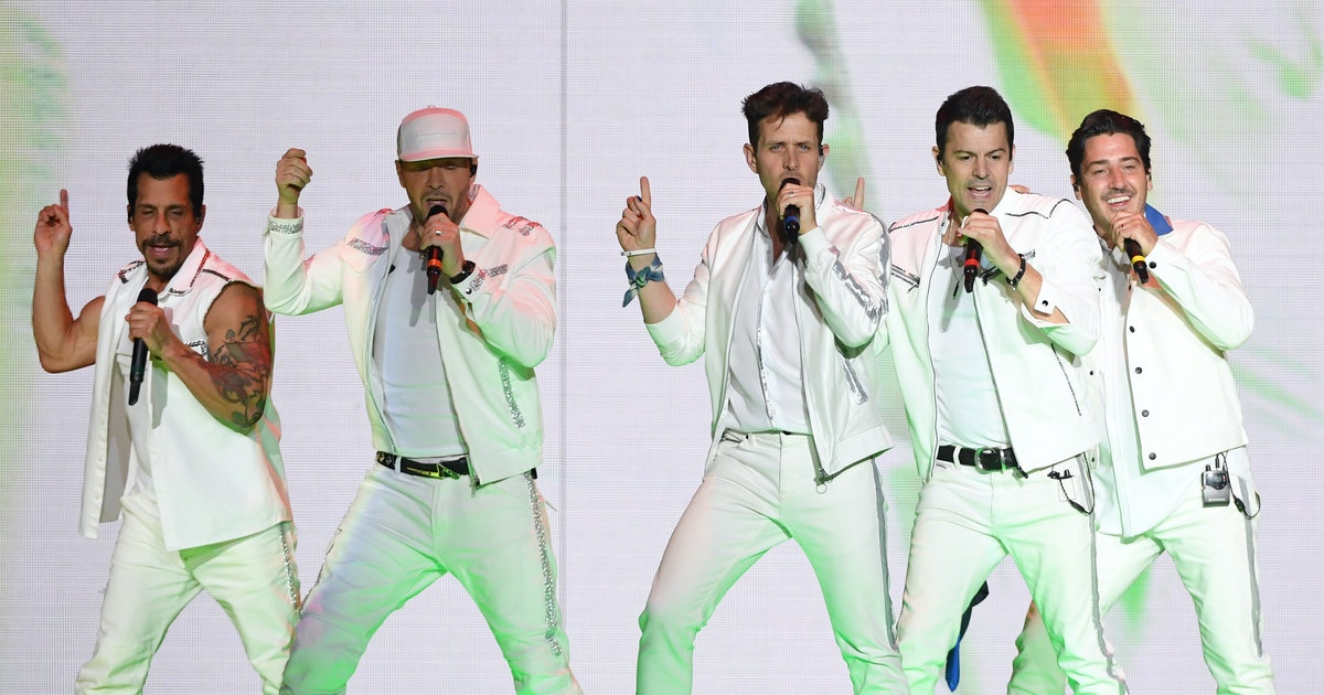 The New Kids On The Block Want *NSYNC To Go On Tour With Or Without Justin Timberlake