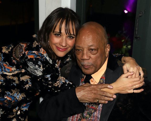 Quincy Jones is Rashida Jones' dad.
