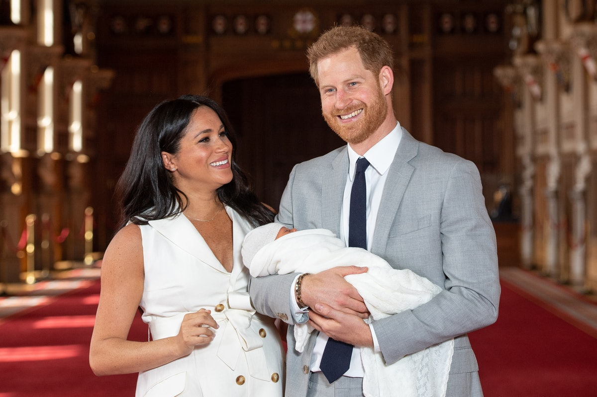 What Is Meghan Markle's Baby's Name? They Just Announced It To The World