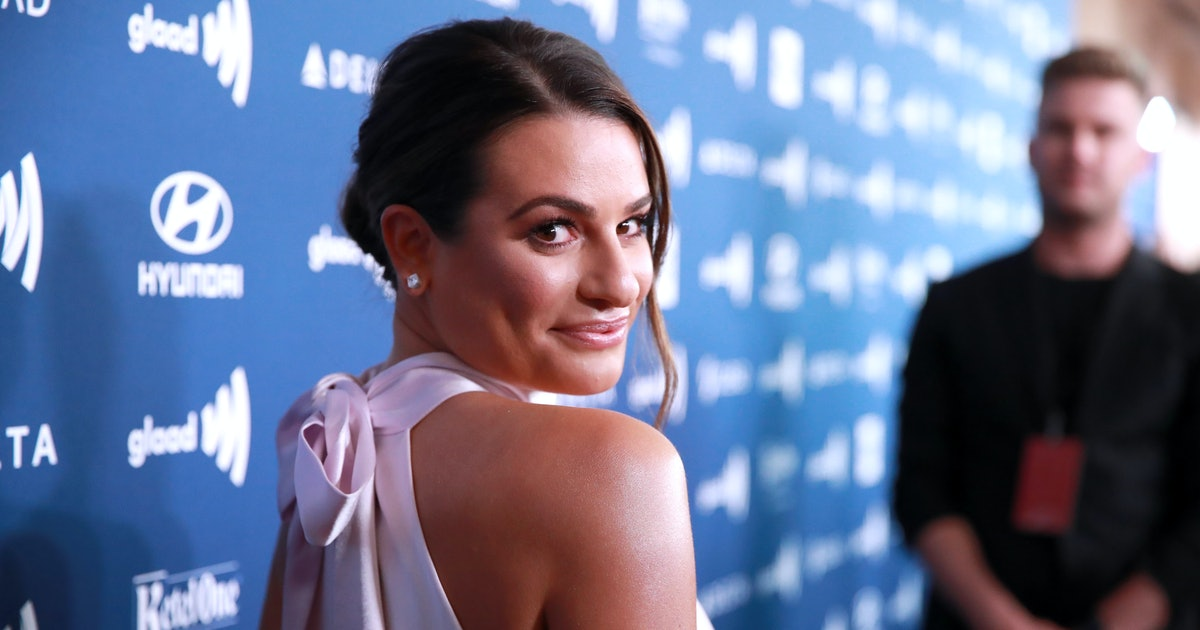 Lea Michele's New Lob And Highlights Make For The Perfect Summer Hair Transformation
