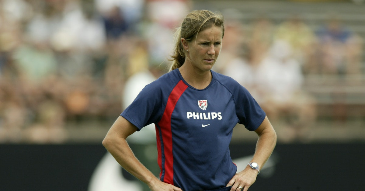 Brandi Chastain Is A Soccer Hero, But There Was A Time When She Dreamed Of Being In The NFL