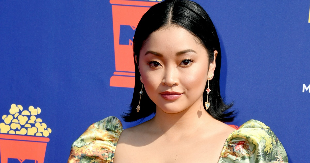 Lana Condor's 2019 MTV Movie & TV Awards Red Carpet Outfit Includes The Perfect Summer Dress