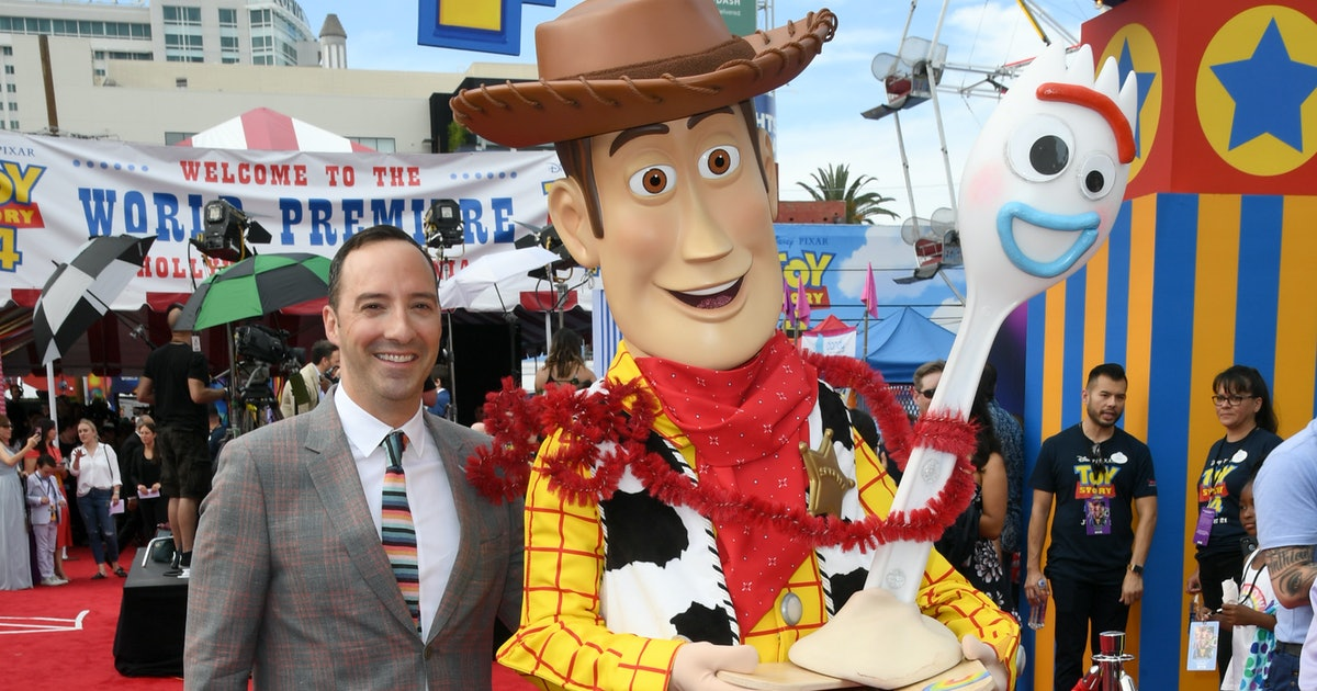 How Playing Forky In 'Toy Story 4' Helped Tony Hale Cope With His Own Anxiety