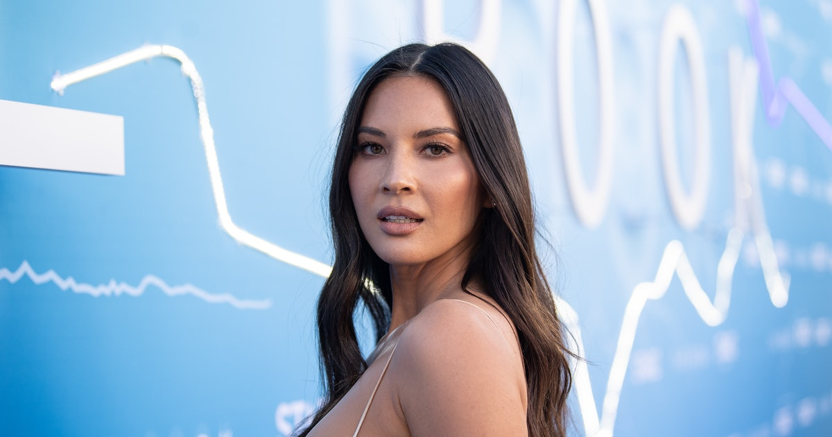Olivia Munn's 3-Piece Suit Is Checkered Perfection — & It's On Sale