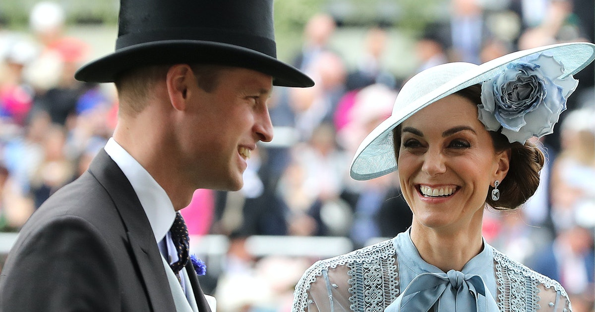 Kate Middleton & Prince William's Body Language At Archie's Christening Was Concerning