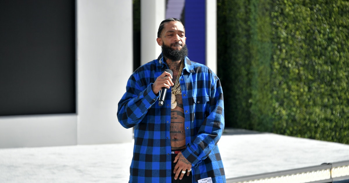 The 2019 BET Awards Honored Nipsey Hussle With A Blue Carpet